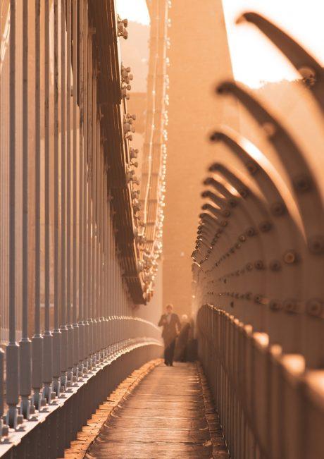 Golden walkway A3 A4 A5